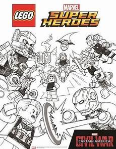 Malvorlagen Wars Heroes N De 15 Ausmalbilder Lego Marvel