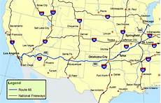 Map And Route - route 66 map route a discover our shared heritage travel