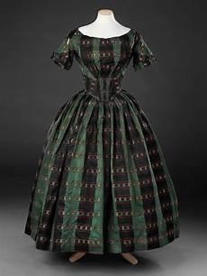 romantischen abend gestalten dress mid to late 1840s fashion vintage