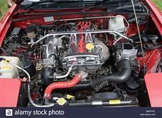 honda k20 motor kaufen masda mx5 motorraum strut brace motor stockfoto