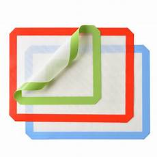 3 silicone baking mat non silpat non stick heat resistant liner sheet 2 large 1s ebay