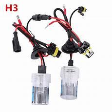 55w hid xenon headlight conversion kit h1 h3 h4 h7 9006