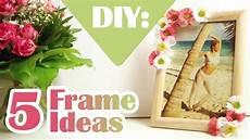 bilderrahmen verzieren ideen diy 5 ways to decorate boring picture frames