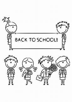 Malvorlagen Special Back To School Malvorlagen Zum Ausdrucken Wir Gehen Alle
