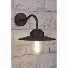 nordlux luxembourg wall light brown rust coloured transparent clear 22671009 illumination co uk