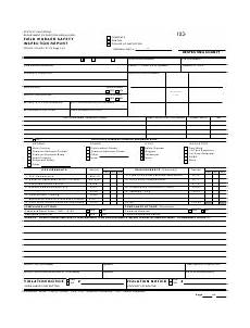 monthly fire and safety inspection form download printable