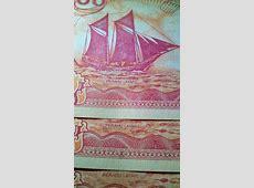 Jual UANG KERTAS 100 RUPIAH PERAHU LAYAR 1991 (PITA EMAS