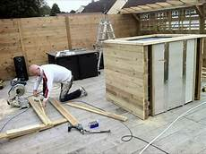 Container Pool Selber Bauen - diy how to build a tub