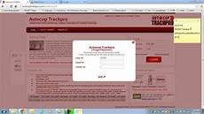 pwd fail gps tracker autocop trackpro forget password youtube