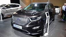 2017 Ford Edge Vignale Exterior And Interior Auto Show