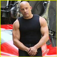 Vin Diesel Flexes His Muscles On Fast 8 Set Fast And