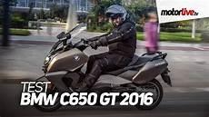 Test Bmw C650 Gt 2016