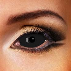 buy black sclera contacts black 22mm contacts lenses