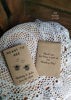 wildflower seeds included meant to bee seed packets canada only envelopes wedding favours
