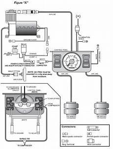 firestone air bag diagram how to install firestone standard duty air command dual path air system analog