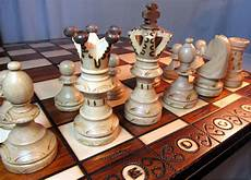 Schach Edles Schachspiel Aus Holz Schachbrett 54 X 54 Cm