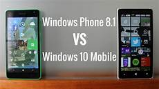 windows mobile 8 1 windows 10 mobile vs windows phone 8 1 which one