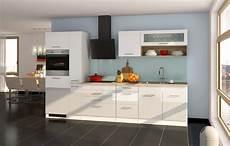 Einbauküche Mit Geräten - einbauk 252 che mit elektroger 228 ten k 252 chenzeile mit ger 228 ten 320