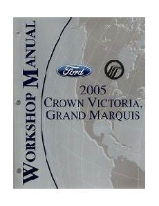 small engine service manuals 2011 ford crown victoria electronic toll collection 2005 ford crown victoria mercury grand marquis factory service manual
