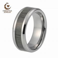aliexpress com buy 8mm mens womens tungsten carbide ring black natural inlay wedding band