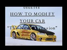 Modify Your Car