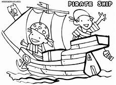 pirate boat coloring page at getcolorings free