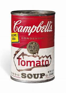 Andy Warhol 1928 1987 Tomato Soup Can Christie S