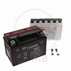 Battery Agm Kymco Like 200 I 10 13 Yuasa Ytx9 Bs