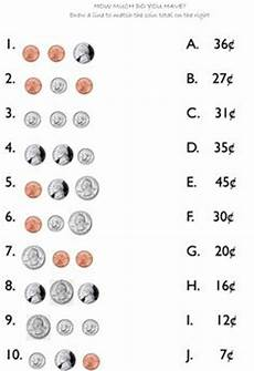 money change worksheets 2nd grade 2425 coin equivalency charts coins chart and math