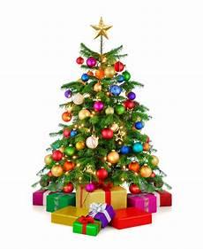 bunter christbaum mit geschenken burhoff