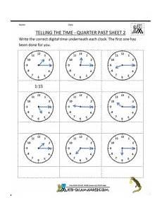 time related worksheets 3173 clock worksheets quarter past sheet 2 werkbladen algebra en wiskunde