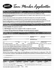 free printable culver s job application form page 3