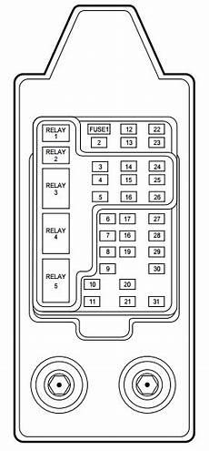 1999 lincoln navigator fuse box location 99 lincoln navigator air suspension relay