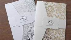 wedding invitations diy trailer youtube