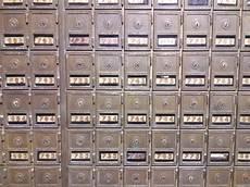 cassette postali antiche caselle di ufficio postale fotografia stock immagine di