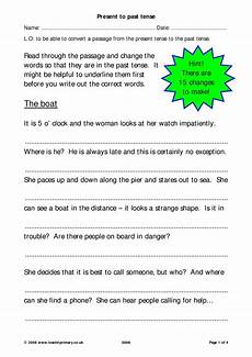 verb tenses vocabulary punctuation and grammar english resources english