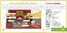 places of worship worksheets ks2 16010 compare sikhism and christianity worksheet worksheet ks1 world religion