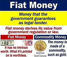 Fiat Money Definition Economics by What Is Fiat Money Definition And Exles Market