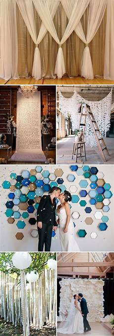 top 20 unique backdrops for wedding ceremony ideas