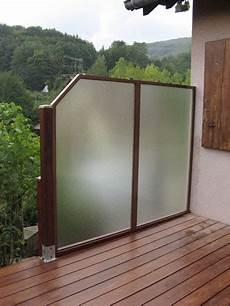 panneau coupe vent terrasse panneau coupe vent terrasse brise vue hauteur 1 80m idmaison
