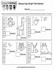 grade 1 measurement worksheets free 1990 can learn a basic way to measure height in this free kindergarten worksheet there are