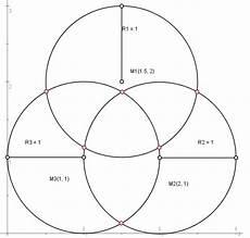 mp schnittpunkt mehrerer kreise berechnen forum matroids