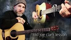 clark guitar joe clark guitar lesson