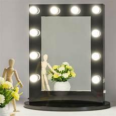 Schminkspiegel Mit Licht - black makeup vanity mirror with light dimmer