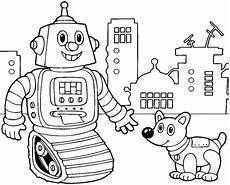 roboter malvorlagen zum ausdrucken 7 beste ausmalbilder roboter kfroboter bastelbogen