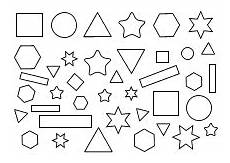 Malvorlagen Vorschule Vorlage Ausmalbild Formen Und Farben Geometrische Formen