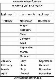 months of the year 4 worksheets education english lessons teaching english worksheets
