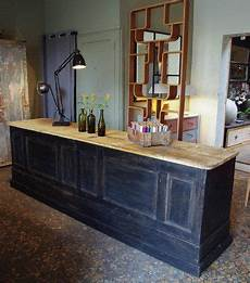 Ancien Comptoir De Magasin Store Counters