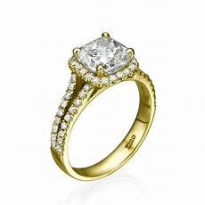 0 8ct d vs1 enhanced diamond unique engagement ring 18k