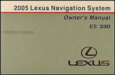 automotive service manuals 1999 lexus es navigation system 2005 lexus es 330 navigation system owners manual original